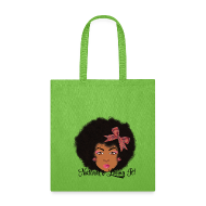 Bags & backpacks ~ Tote Bag ~ SN&LI! Afro Fro Bow