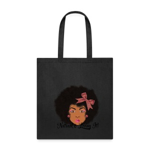 SN&LI! Afro Fro Bow  - Tote Bag