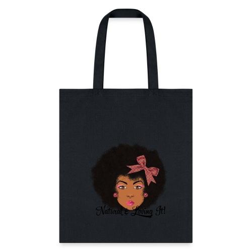 SN&LI! Afro Fro Bow  - Tote Bag