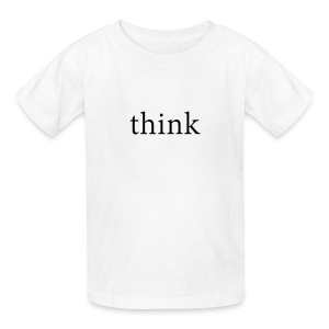 Think Kids T-Shirt - Kids' T-Shirt