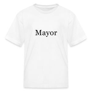 Mayor Kids T-Shirt - Kids' T-Shirt