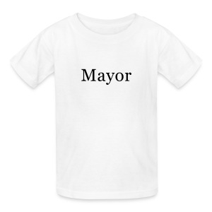 Mayor Kids T-Shirt - Kids' T-Shirt