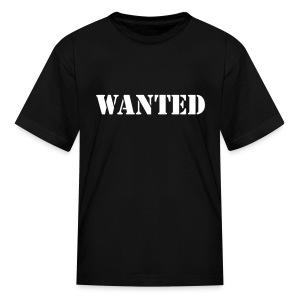 Wanted Kids T-Shirt - Kids' T-Shirt