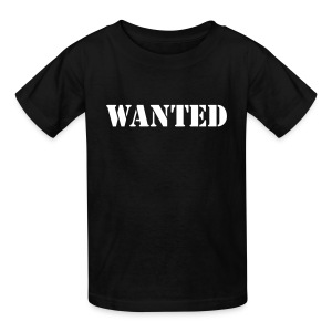 Wanted Kids T-Shirt - Kids' T-Shirt