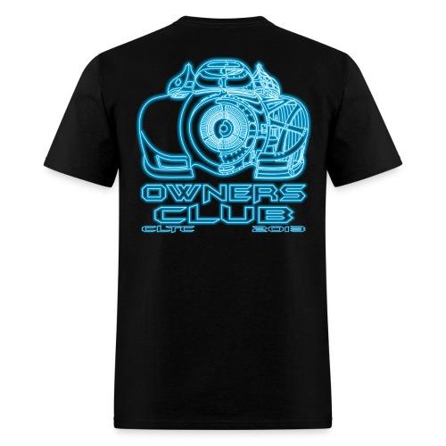 Neon Owners SW Back Gildan - Men's T-Shirt