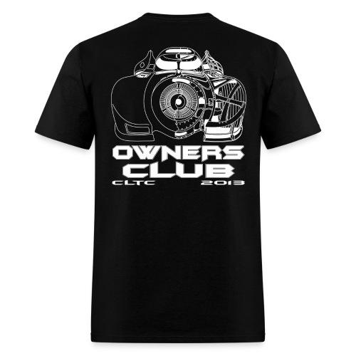 White Owners SW Back Gildan - Men's T-Shirt