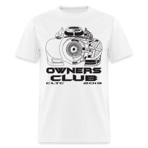 Black Owners SW Front Gildan - Men's T-Shirt