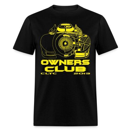 Yellow Owners SW Front Gildan - Men's T-Shirt