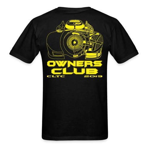 Yellow Owners SW Back Gildan - Men's T-Shirt