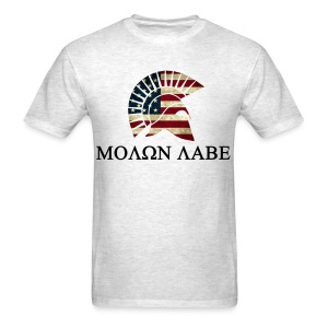 Molone Labe Red White and Blue - Men's T-Shirt