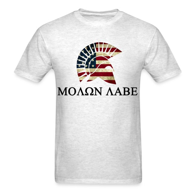 Molone Labe Red White and Blue