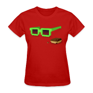 T-Shirts ~ Women's T-Shirt ~ Ladies Tee: Kicky Kicky Flow