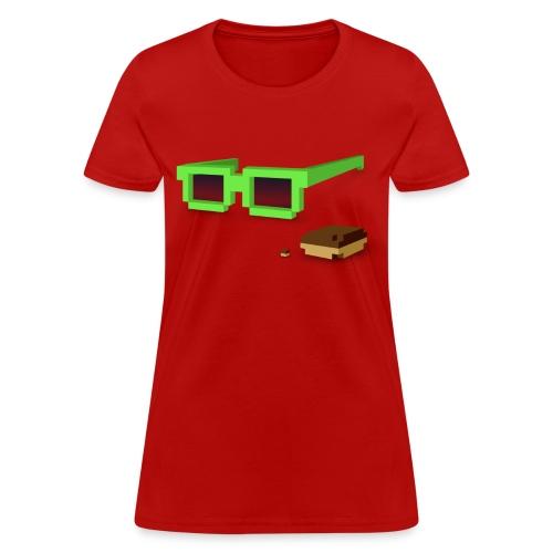 Ladies Tee: Kicky Kicky Flow - Women's T-Shirt
