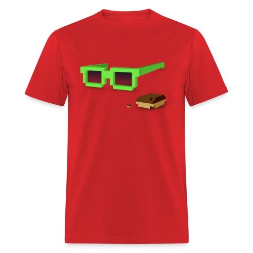 Mens Tee: Kicky Kicky Flow - Men's T-Shirt