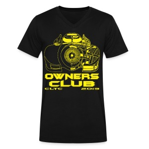 Yellow Owners V-Neck Front Canvas - Men's V-Neck T-Shirt by Canvas