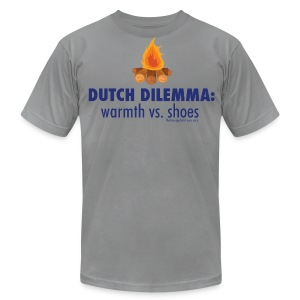 Dilemma - Men's T-Shirt by American Apparel