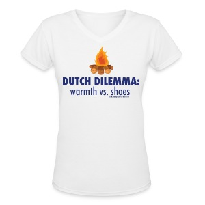 Dilemma - Women's V-Neck T-Shirt