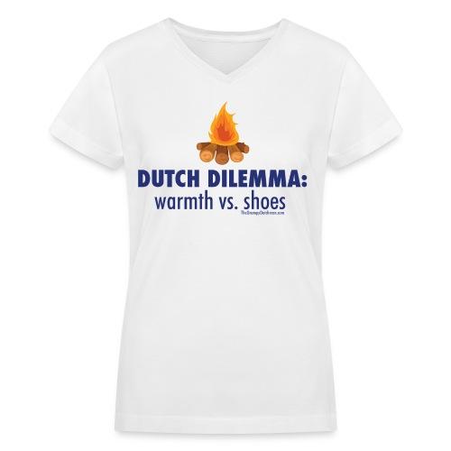 Dilemma - Women's V-Neck T-Shirt