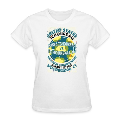 USTB First Championship 2013 - Women's T-Shirt