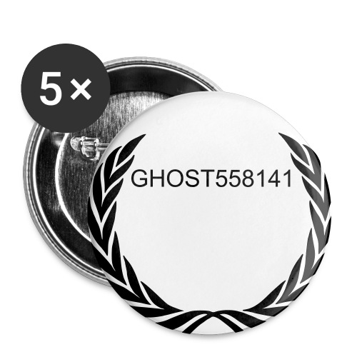 The GHOST Pins - Large Buttons