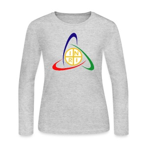 INRI RGB - Women's Long Sleeve Jersey T-Shirt
