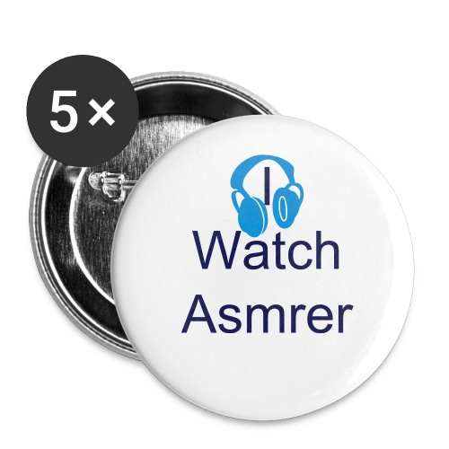 I Watch Asmrer Button (5-Pack) In LARGE - Large Buttons