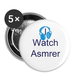 I Watch Asmrer Button (5-Pack) In SMALL - Small Buttons