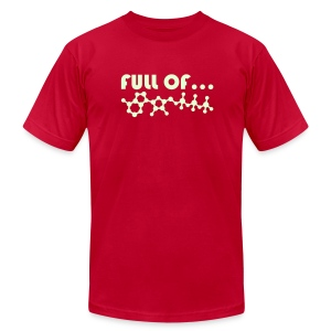 Full of Energy (Glow In The Dark) - Men's Fine Jersey T-Shirt