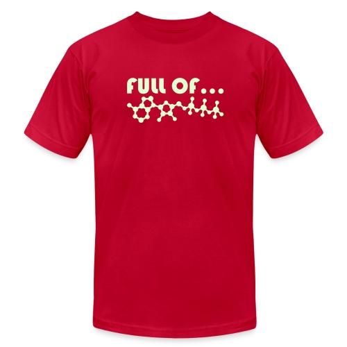Full of Energy (Glow In The Dark) - Men's Fine Jersey T-Shirt