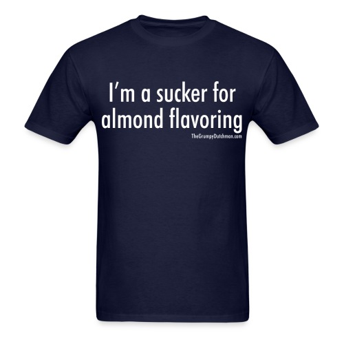 Almond Flavoring (white) - Men's T-Shirt