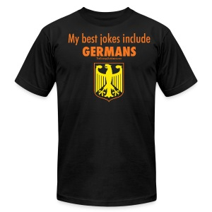 Germans - Men's T-Shirt by American Apparel