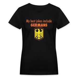 Germans - Women's V-Neck T-Shirt