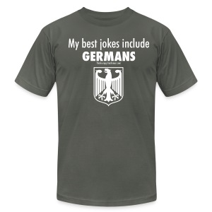 Germans (white) - Men's Fine Jersey T-Shirt