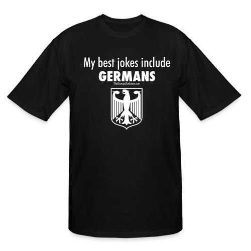 Germans (white) - Men's Tall T-Shirt