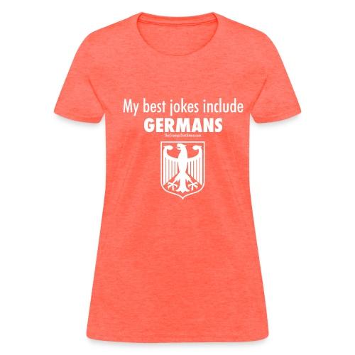 Germans (white) - Women's T-Shirt