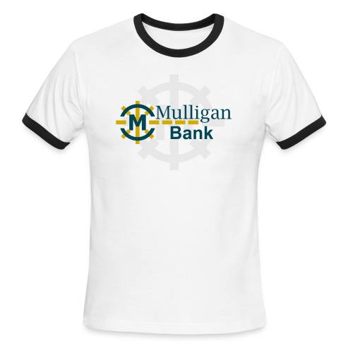 Mulligan Bank Color - Men's Ringer T-Shirt