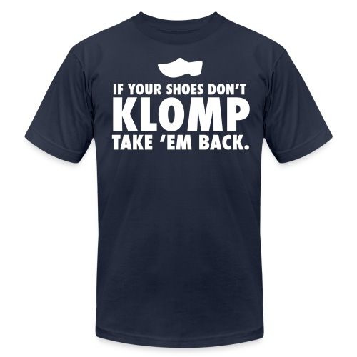 Klomp (white) - Men's Fine Jersey T-Shirt