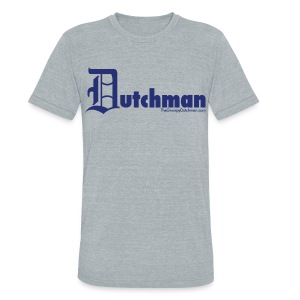 Old E Dutchman (blue) - Unisex Tri-Blend T-Shirt by American Apparel