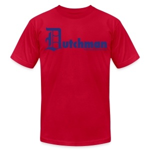 Old E Dutchman (blue) - Men's T-Shirt by American Apparel