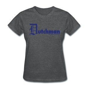 Old E Dutchman (blue) - Women's T-Shirt