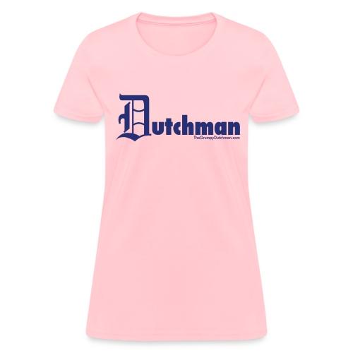 Old E Dutchman (blue) - Women's T-Shirt