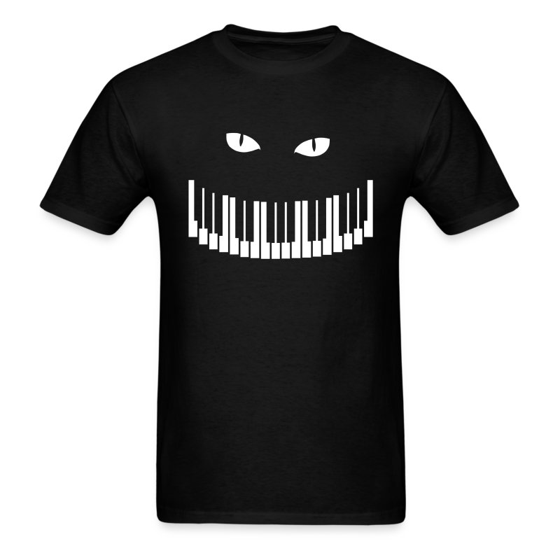 Sneaky Piano Cat - Men's T-Shirt