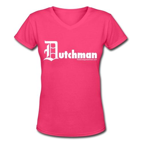Old E Dutchman - Women's V-Neck T-Shirt
