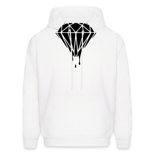 Black & Gold Collection Diamond Slime - Men's Hoodie