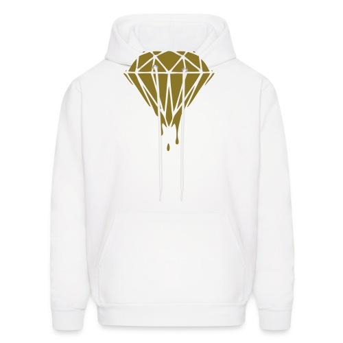 Black & Gold Collection Diamond Slime - Men's Hoodie