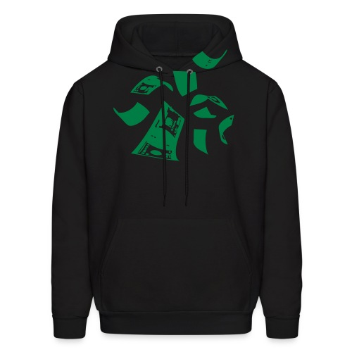 Black & Gold Collection Paper Trail - Men's Hoodie