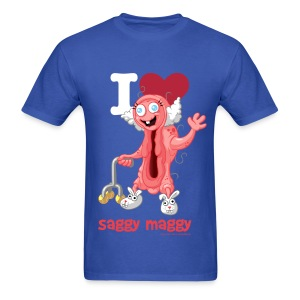 I❤Saggy Maggy  Wear it Loud! - Men's T-Shirt