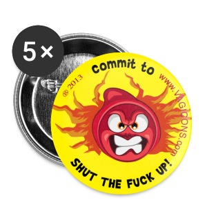 Don't just STFU.. COMMIT to It! - Small Buttons
