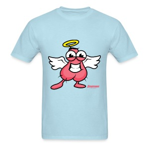 Scroticons.. He's No Angel! - Men's T-Shirt