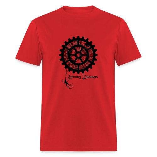 Spooky Designs Red Men's Shirt - Men's T-Shirt